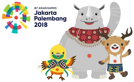 Asian Games 2018 Mascot - List of Asian Games Mascots (1982-2018)