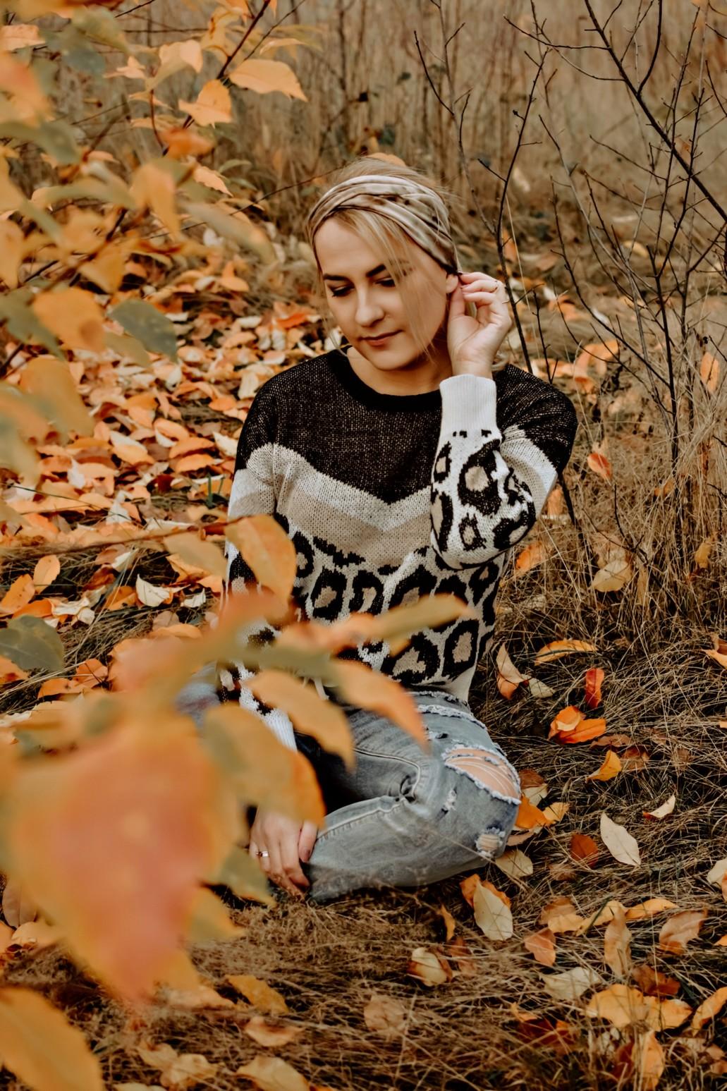 Jesienna stylizacja na co dzień