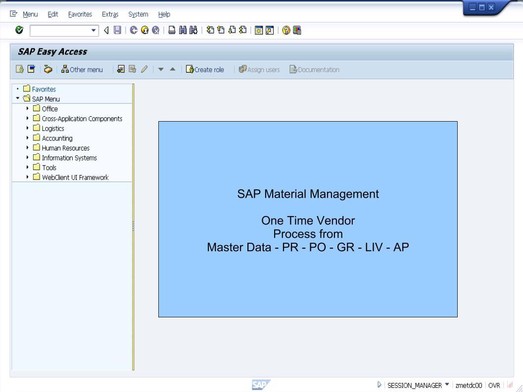 青蛙SAP分享 Learning & Examination: Material Management