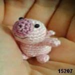 patron gratis cerdo amigurumi, free pattern amigurumi pig