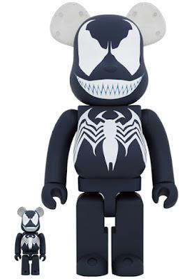 Venom Be@rbrick Mavel Vinyl Figures by Medicom Toy