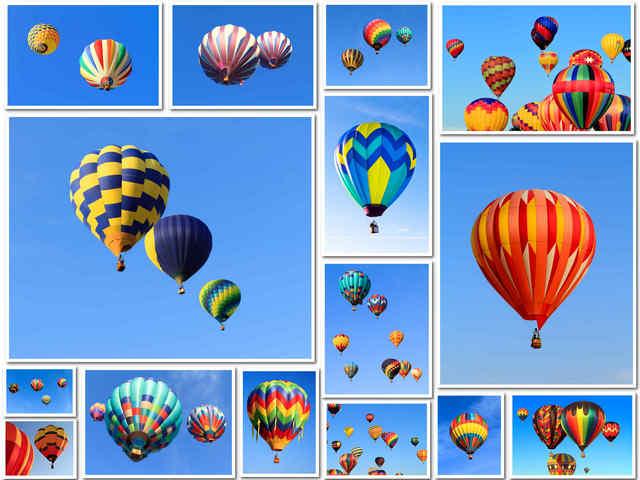 15 صورة عالية الجودة لبالون الهواء بألوان منوعة