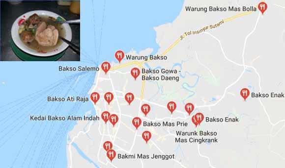 Bakso Enak di Makassar