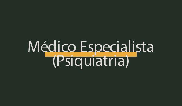 Prova Concurso Psiquiatra (FUNDATEC 2021) com Gabarito
