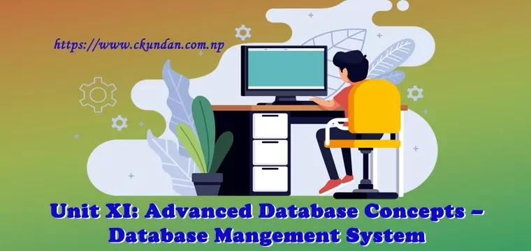Advanced Database Concepts – Database Management System