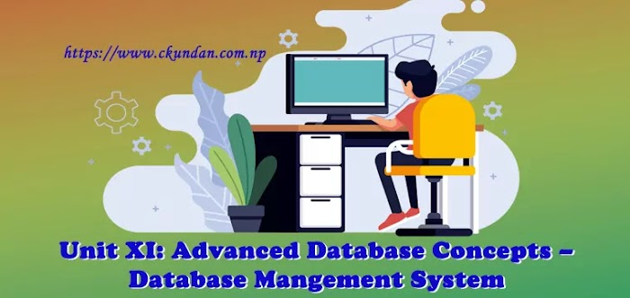 Unit XI: Advanced Database Concepts – Database Management System