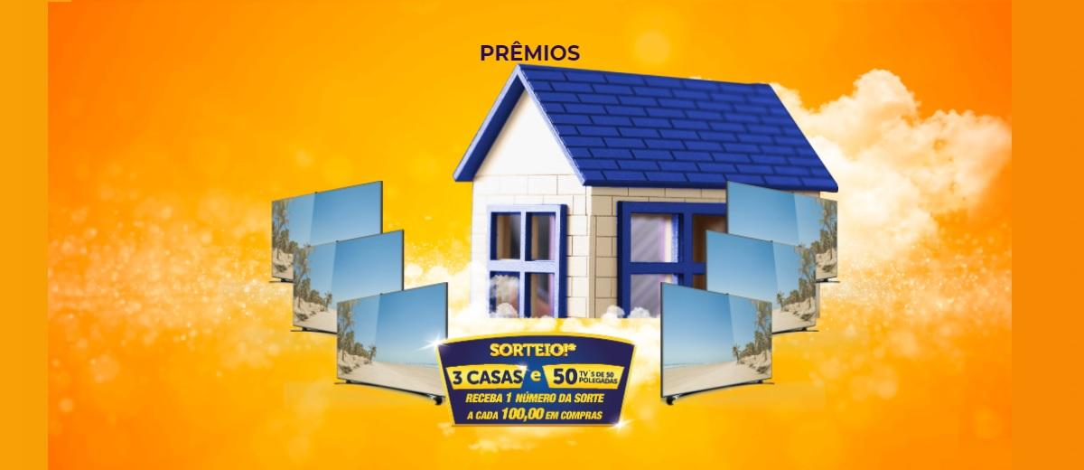 Cadastrar Promoção Fim de Ano 2020 Atakarejo 3 Casas e TVs 50 Polegadas Final de Ano dos Sonhos