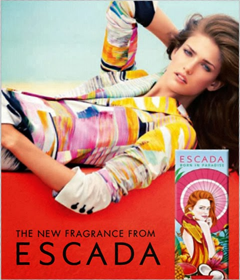 ESCADA: Born in Paradise. Perfume frutal