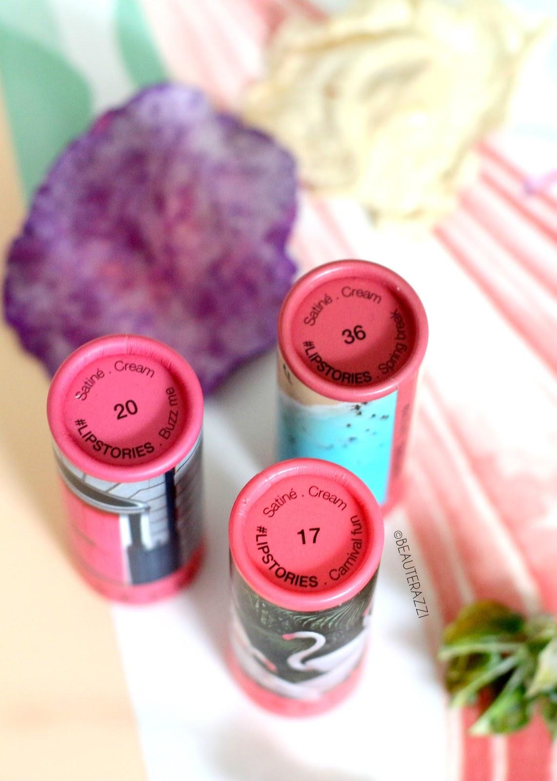 Sephora #Lipstories Lipsticks