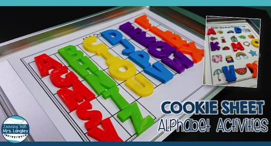 Cookie Sheet Alphabet Activities