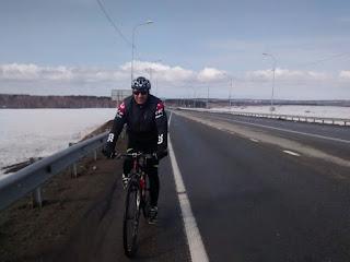 Начало объездной из Шелехова