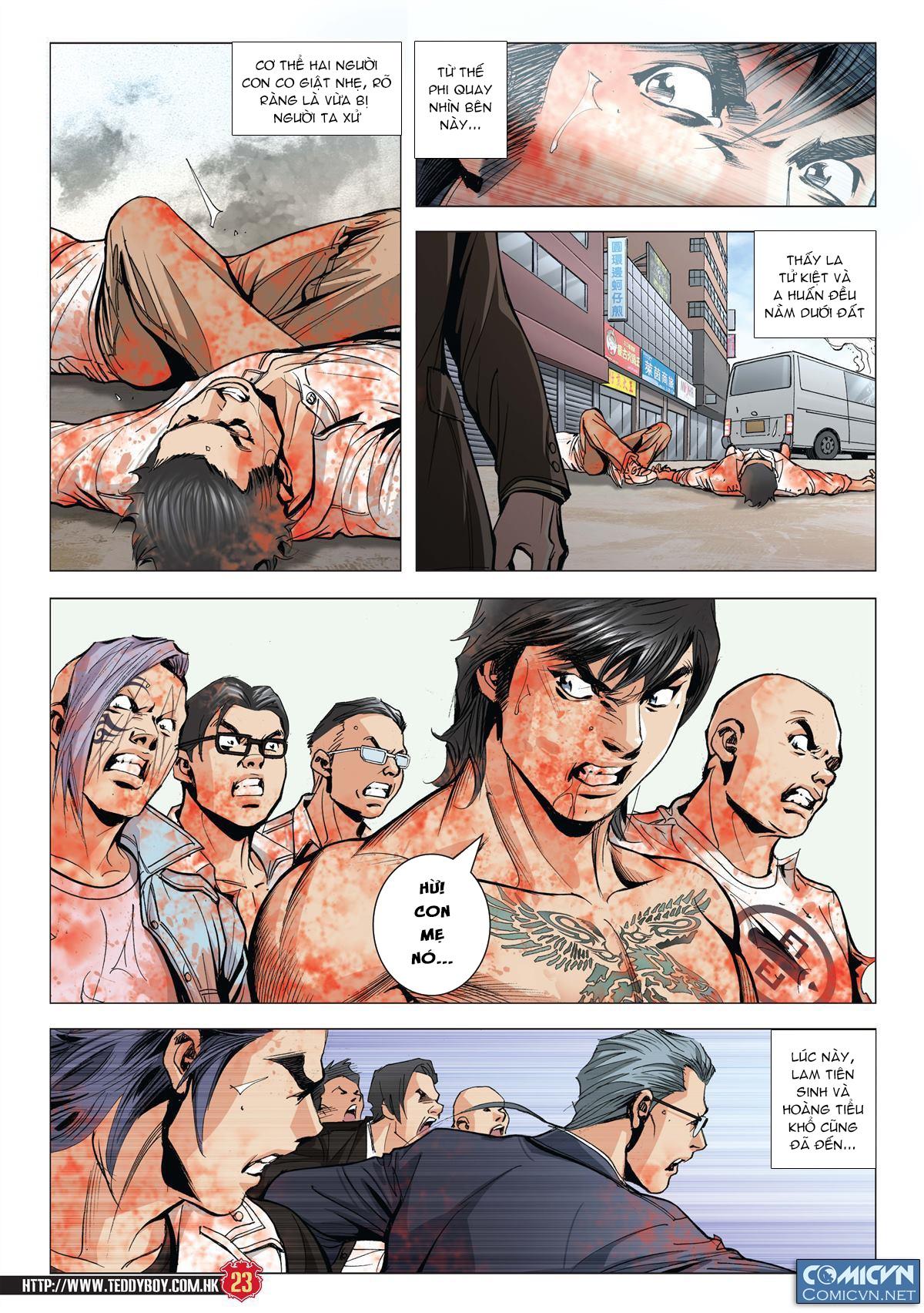Người Trong Giang Hồ chapter 1997: triệu oánh vs đinh dao trang 21