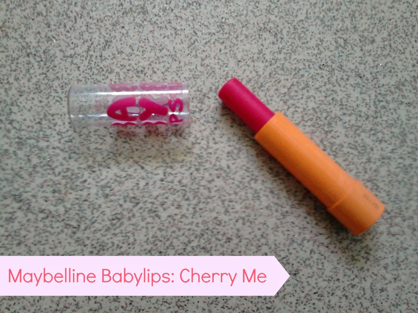 Maybelline Babylips Cherry Me
