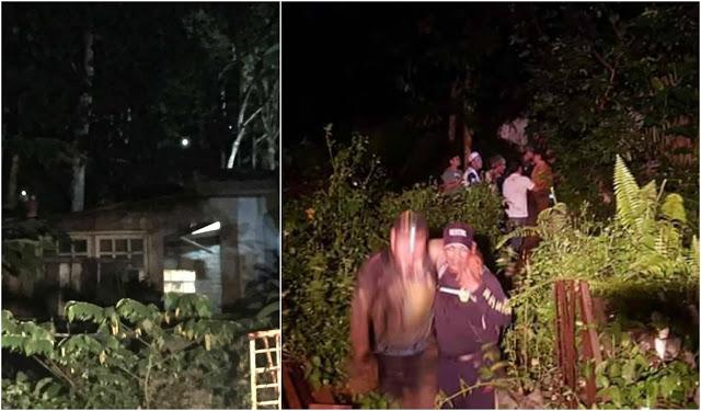(15 Foto) 20 Lelaki Sesat Tak Jumpa Jalan Turun Selepas Daki Bukit Batu Caves Untuk Pasang Bendera Parti Politik..