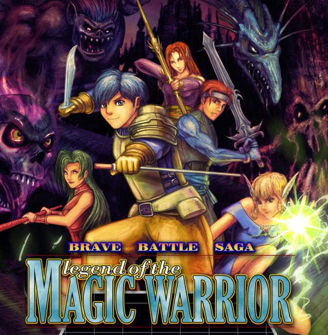 Brave Battle Saga: Legend Of The Magic Warrior