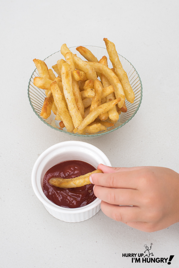 How long to cook fries in air fryer