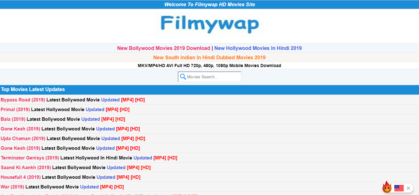 Filmywap south movies in hindi 2020