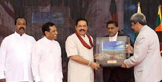President Rajapaksa declares open Dickowita fisheries harbour