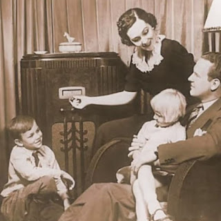 Family with Radio