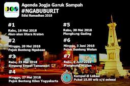 Jadwal Ngabuburit Jogja Garuk Sampah Edisi Ramadhan 2018