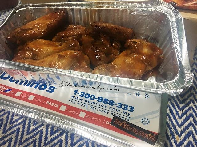 Ayam Haseyo Domino's Buy 1 Free 1