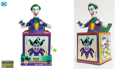 San Diego Comic-Con 2020 Exclusive The Joker Jack-in-the-Box by Entertainment Earth x DC Comics