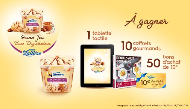 Jeu Concours Croquons la Vie de Nestlé 61 lots à gagner !