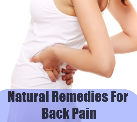 Best Home Remedies For Back Ache   Simple Back Pain Treatments
