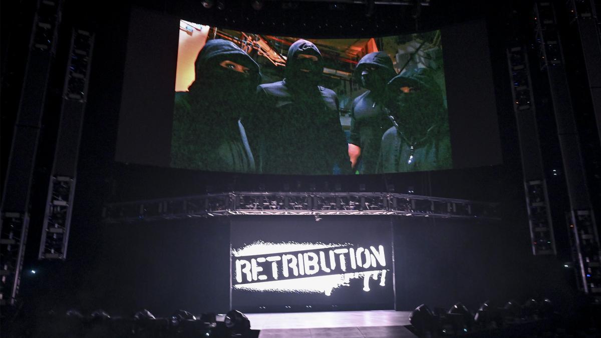 RETRIBUTION lançam mensagem enigmática no RAW