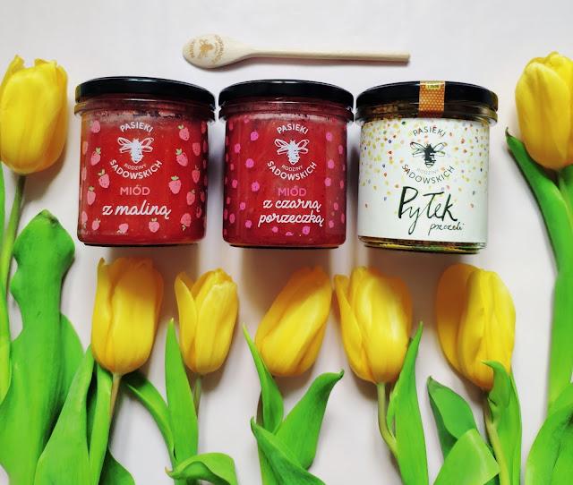 Popraw swoją odporność na wiosnę - Miody smakowe i pyłek pszczeli z Pasieki Sadowskich + kod na zakupy miodów