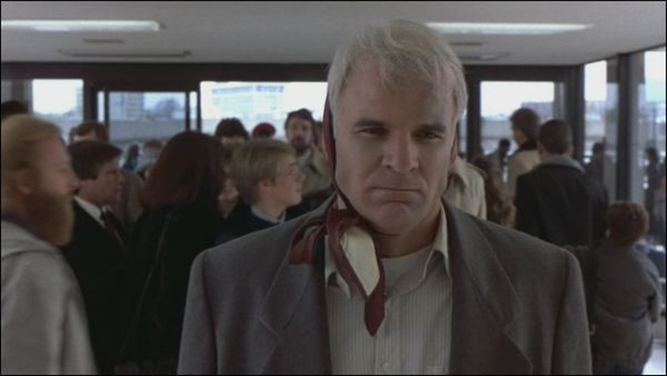 Steve Martin in Planes, Trains, and Automobiles