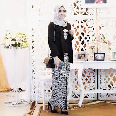 kebaya batik muslim kutubaru