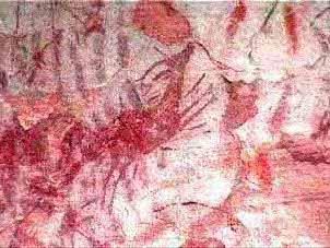 Imagen Pinturas rupestre Abrigo de Tío Modesto (Henarejos)
