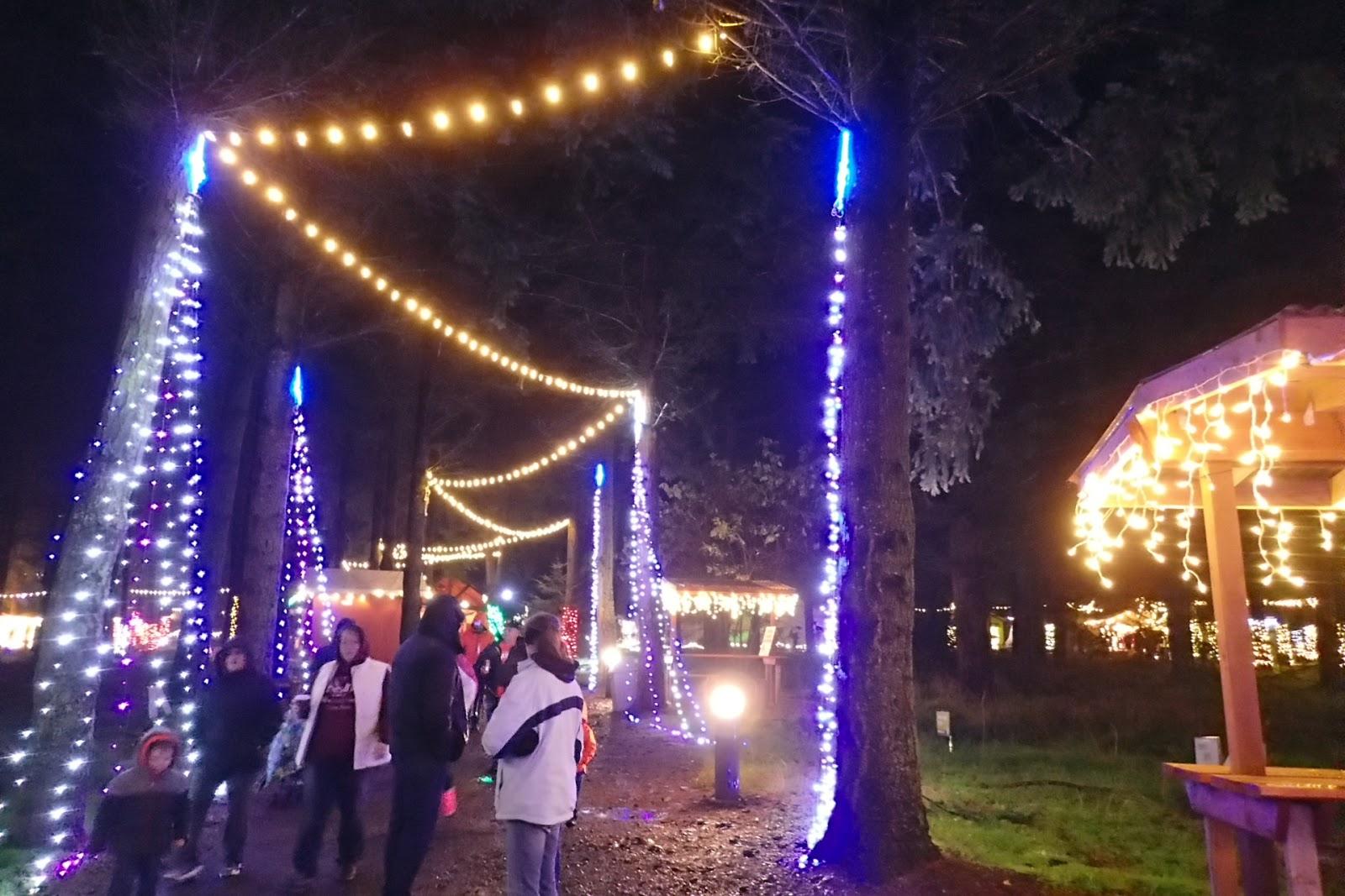 Oregon Gardens Christmas.Casing Oregon 2016