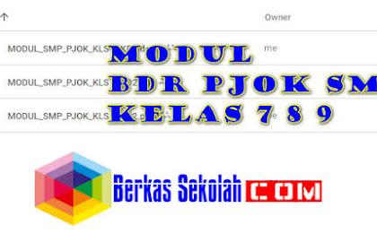 Modul BDR PJOK Kelas 7 8 9 SMP/ MTs Semester 1