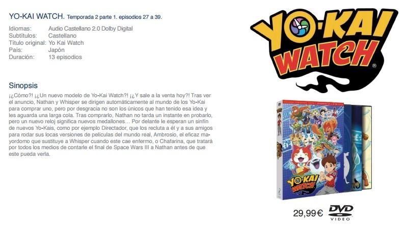 Yo-kai Watch T2