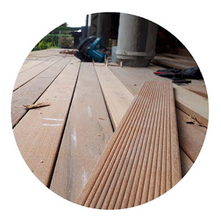 penjual lantai kayu parket harga murah Denpasar - Bali