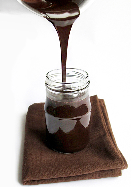 Homemade chocolate sauce tinascookings.blogspot.com
