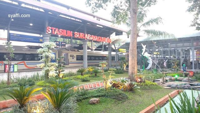 Stasiun Surabaya Gubeng syaffi com