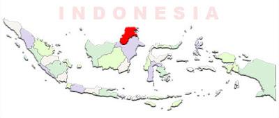 image: North Kalimantan Map location