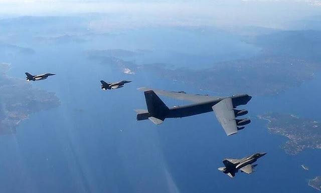 Πήγαν να «σπάσουν» τον 25ο Μεσημβρινό και τους «τσάκισαν» τα ελληνικά F-16