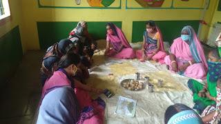 पोषण पखवाड़ा के तहत कार्यक्रम का आयोजन