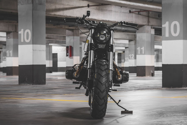 BMW R100RT By Bolt Motor Co. Hell Kustom
