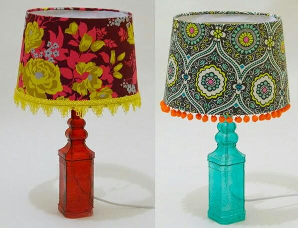 girly lamp shades