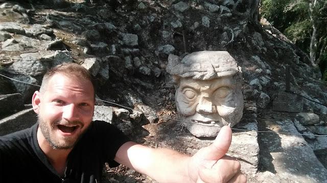 Copan ruinas, maya ruins in Honduras