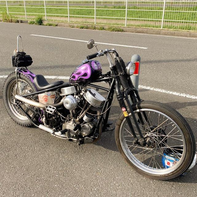 Harley Davidson Panhead By エロチ Hell Kustom