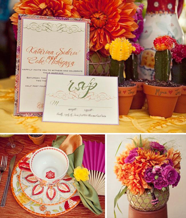 Greer Loves: Cinco De Mayo Wedding: Stationery & Paper Goods