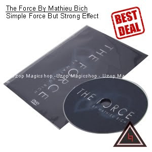 Jual alat sulap DVD sulap The Force by mathieu Bich