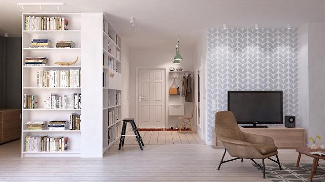 Mẫu thiết kế nội thất chung cư 105m2 hiện đại và ấn tượng nhất năm 2018 - H1