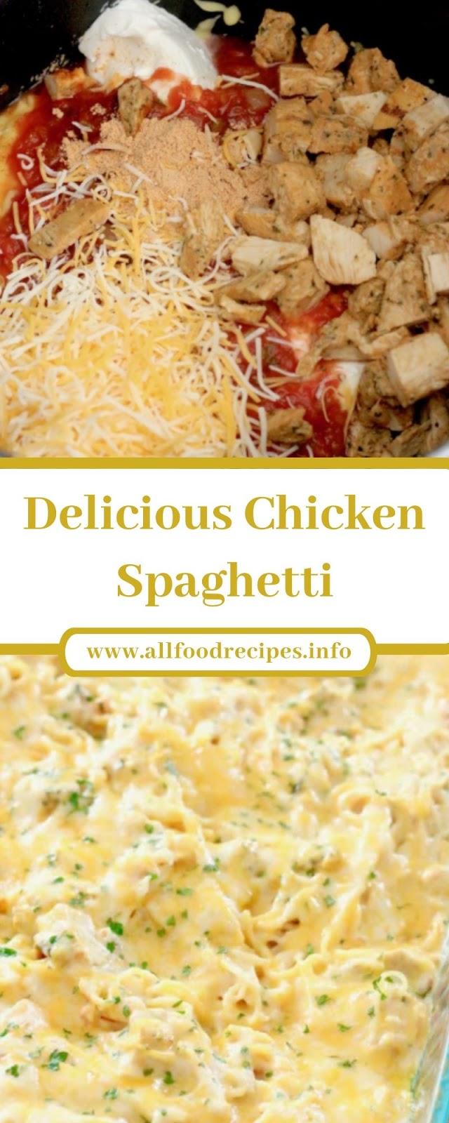 Delicious Chicken Spaghetti